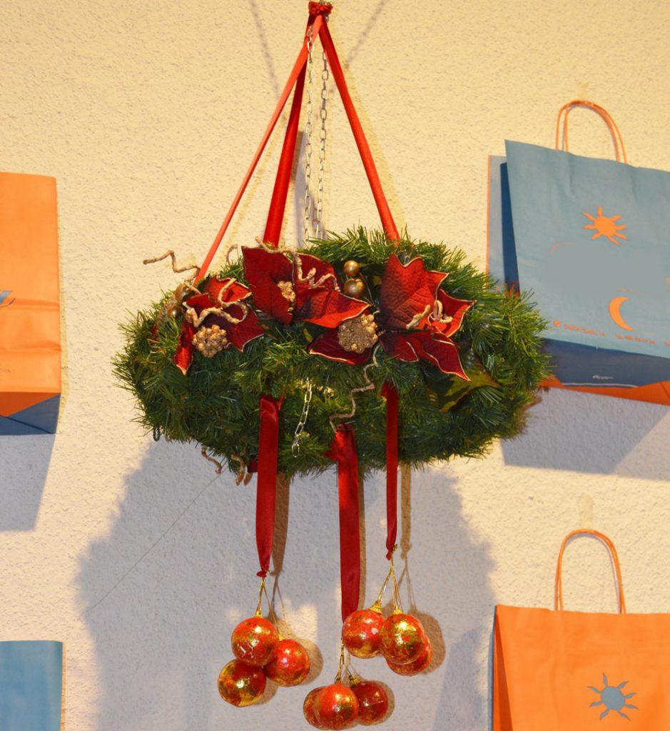 coronas de Navidad para colgar