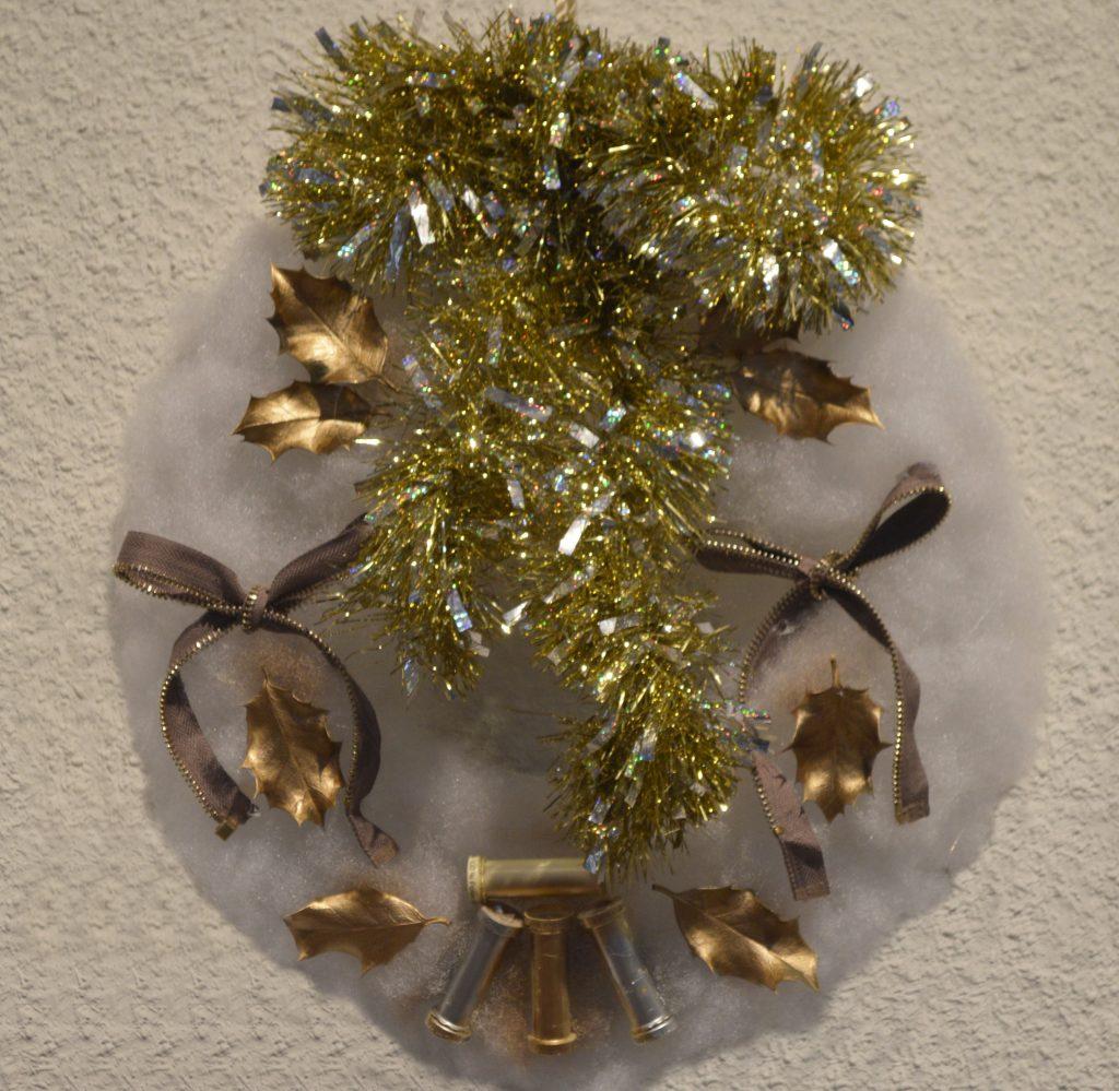 coronita de Navidad