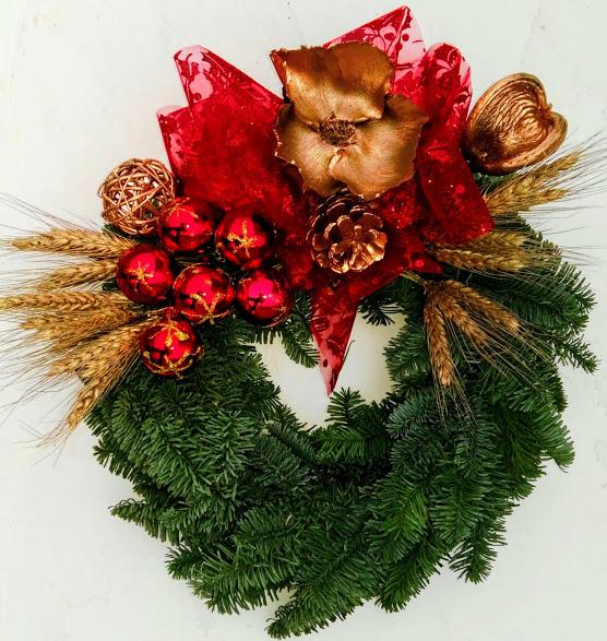 coronitas de navidad