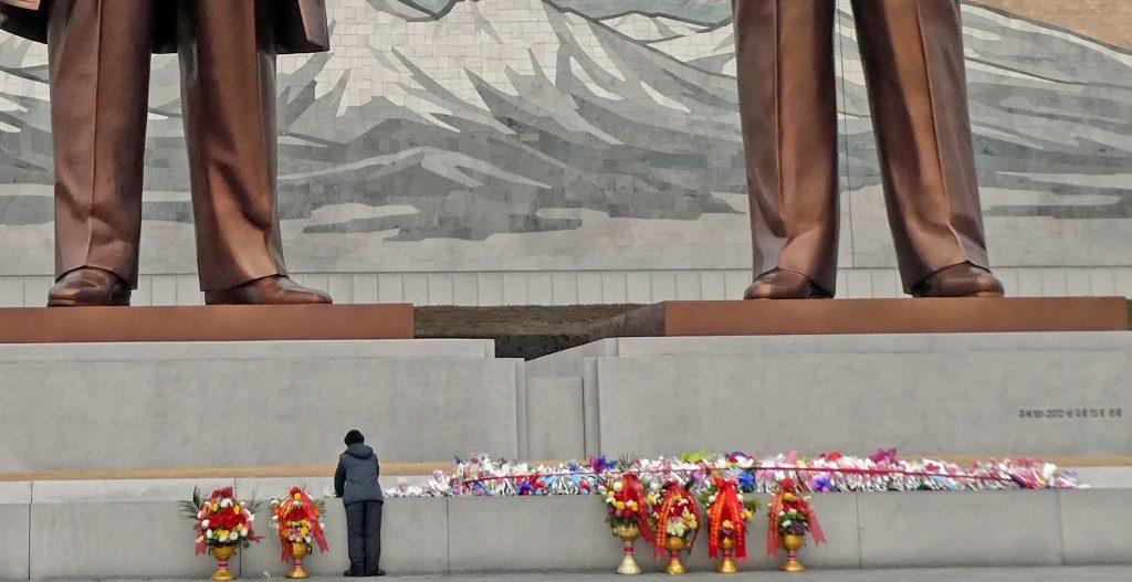flores Corea del Norte