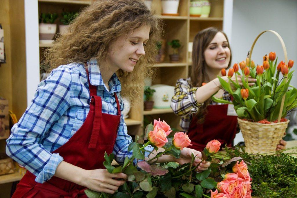 floristerías de España regalan flores en Hospitales