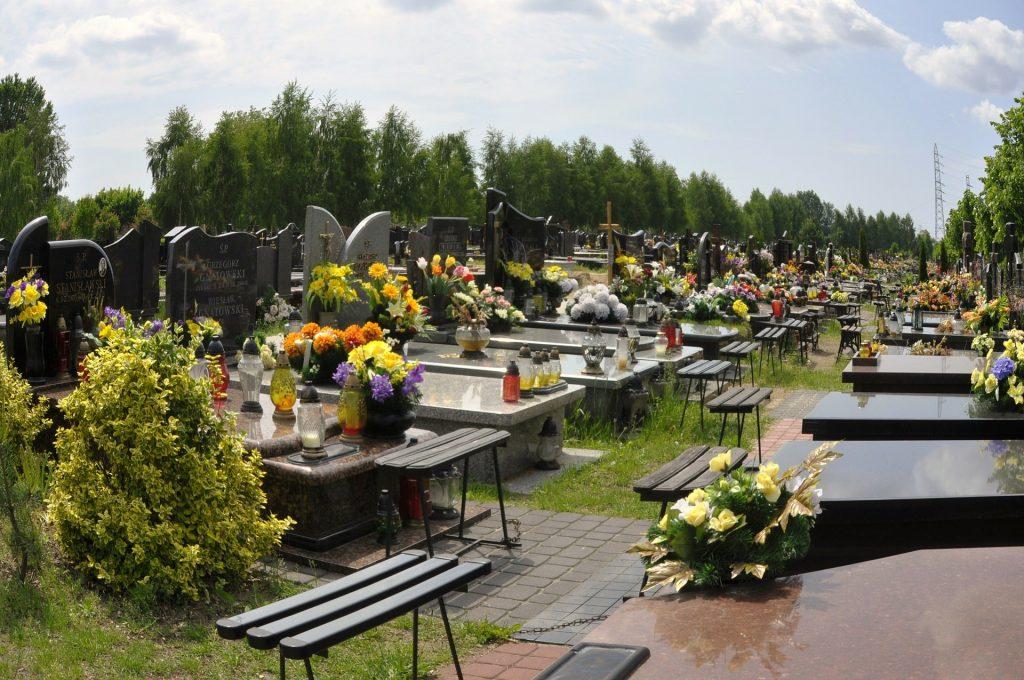 Flores para cementerio